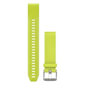 萤亮黄硅胶表带加长版(20mm)