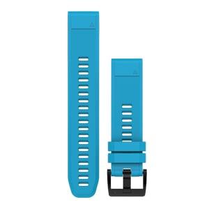 天空蓝硅胶快拆表带(22 mm)