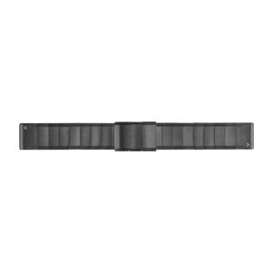 岩石灰不锈钢快拆表带(22 mm)
