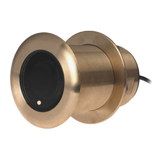 Bronze Thru-hull Transducer with Depth & Temperature (12° tilt, 8-pin) - Airmar B75H