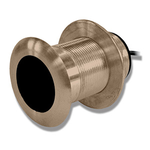 Bronze Thru-hull Mount Transducer with Depth & Temperature (8-pin) - Airmar B117