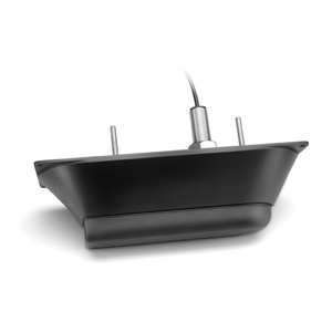 Garmin GT41-TH – Stainless Steel Thru-Hull ClearVü/SideVü 500 W (CHIRP 260/455 kHz) Traditional 600 W (50/200 kHz) Transducer wit